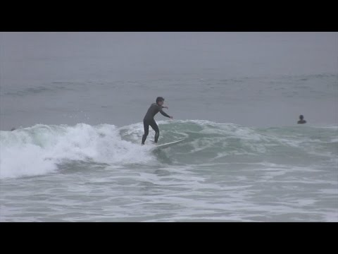 Tate Curran is surfer and 17-foot pole vaulter