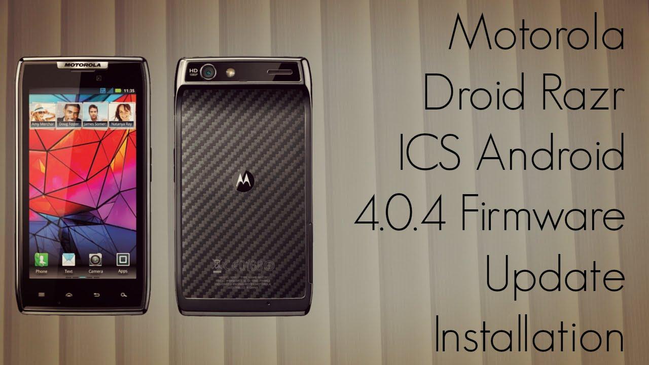 Motorola droid razr ics version 6. 14. 75 update leaked.