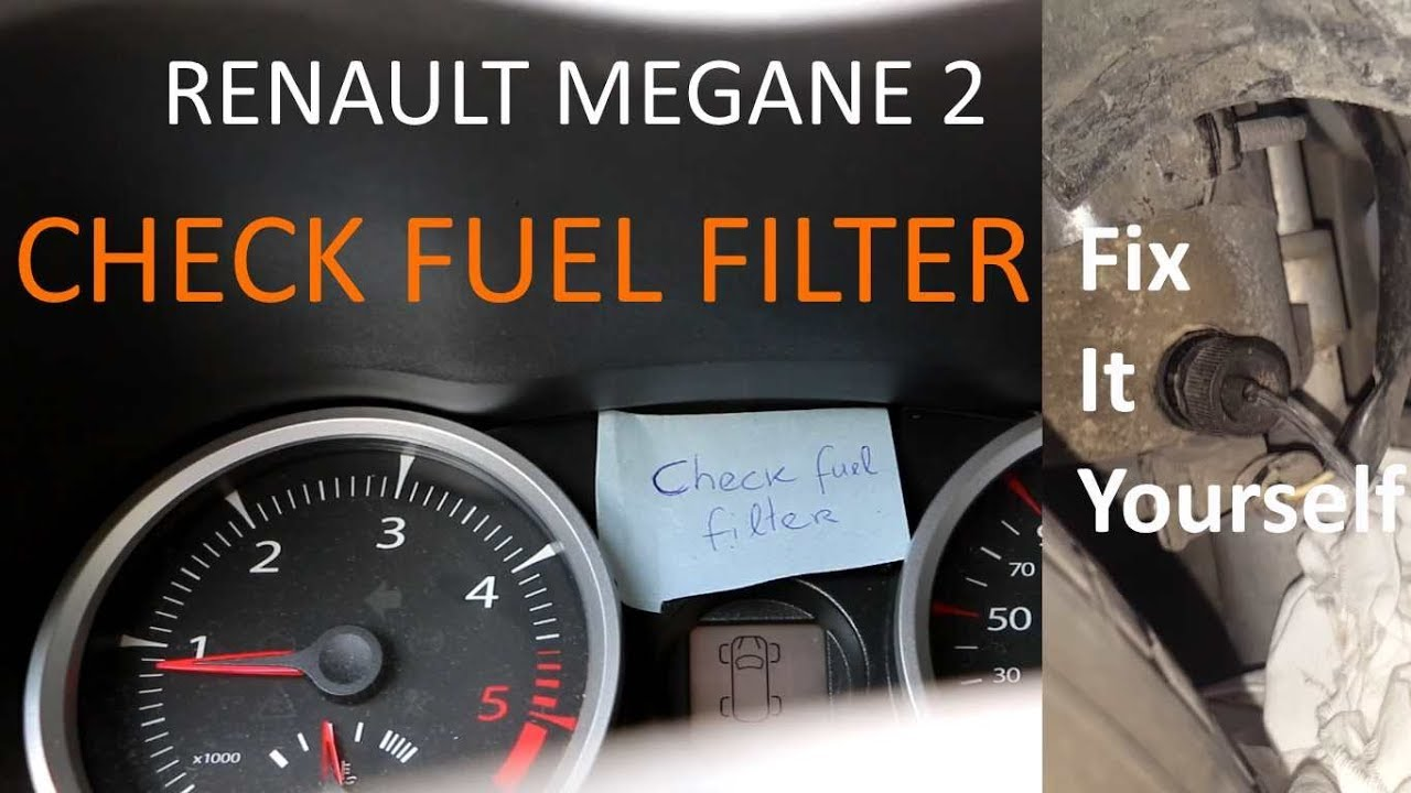 renault megane 2 check fuel filter what to do youtube Fuel Filter Replacement renault megane 2 check fuel filter what to do