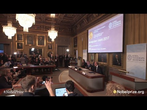 Announcement of the Nobel Prize in Chemistry 2017