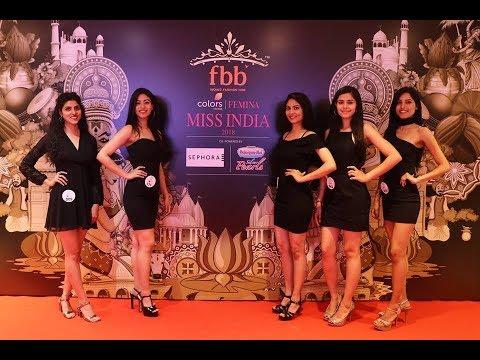 fbb Colors Femina Miss India 2018 Delhi Auditions in Gurugram