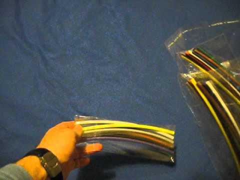 banggood heat shrink tube wire wrap cable sleeve youtube rh youtube com