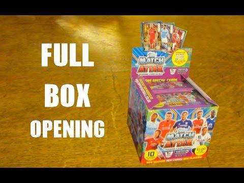 Match Attax 2015/16 BOOSTER BOX OPENING