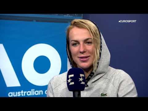 Анастасия Павлюченкова: интервью после вылета с Australian Open