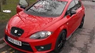Vo60uzb Used Seat Leon Cupra R In Red At Wessex Garages, Pennywell Road, Bristol