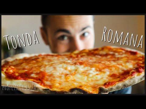la-pizza-fine-et-croustillante-|-recette-complète-de-pizza-romaine-maison