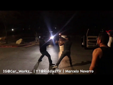 Huge fight at Car Meet | Guy rips my microphone off