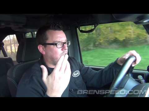 Edelbrock E-Force Jeep Wrangler JK Supercharger Review at Brenspeed