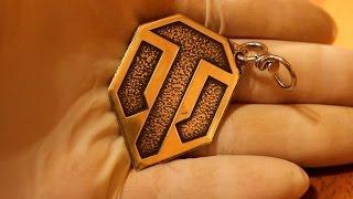 Купить сувенир брелок для ключей с логотипом World of tanks(Наш интернет-магазин - http://simshop.biz/ Наша группа в