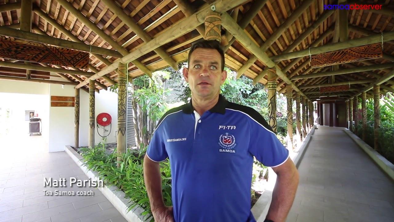 Toa Samoa: We'll do our talking on the field - Dauer: 2 Minuten, 15 Sekunden