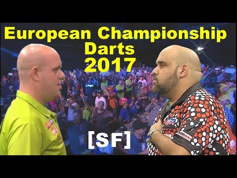 van Gerwen v Anderson [SF] 2017 Euro Champ Darts