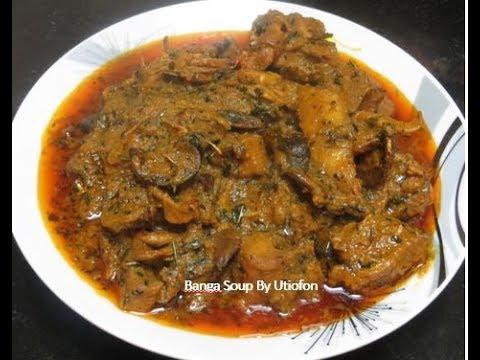 How To Make Nigerian Banga Soup | Abak Soup Recipe