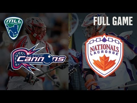 MLL's Youtube Game of the week: Boston Cannons at Hamilton Nationals
