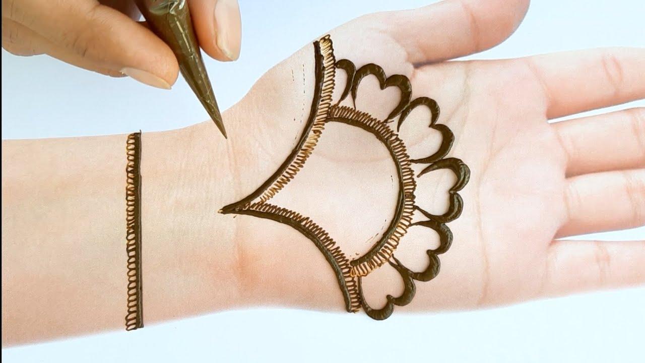 mehandi design of front hand