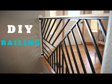 diy-railing-makeover!-between-kitchen-and-living-room
