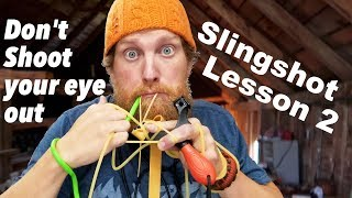 How to Install Bands on a Slingshot SimpleShot Torque, Scout, Hammer, Ocularis (How to Slingshot # 2