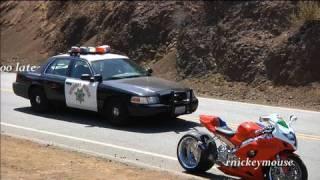 Supermoto Police Chase