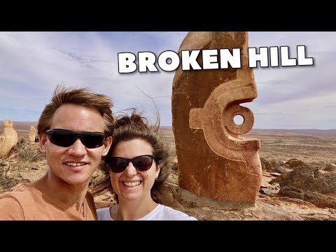 EXPLORING BROKEN HILL! | Broken Hill, NSW Australia | Day Trips #016