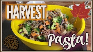 Cook With Me | HARVEST PASTA RECIPE | October 2019