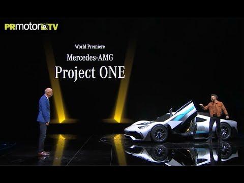 Lewis Hamilton presenta el Mercedes-AMG Project ONE - Material Completo en PRMotor TV Channel