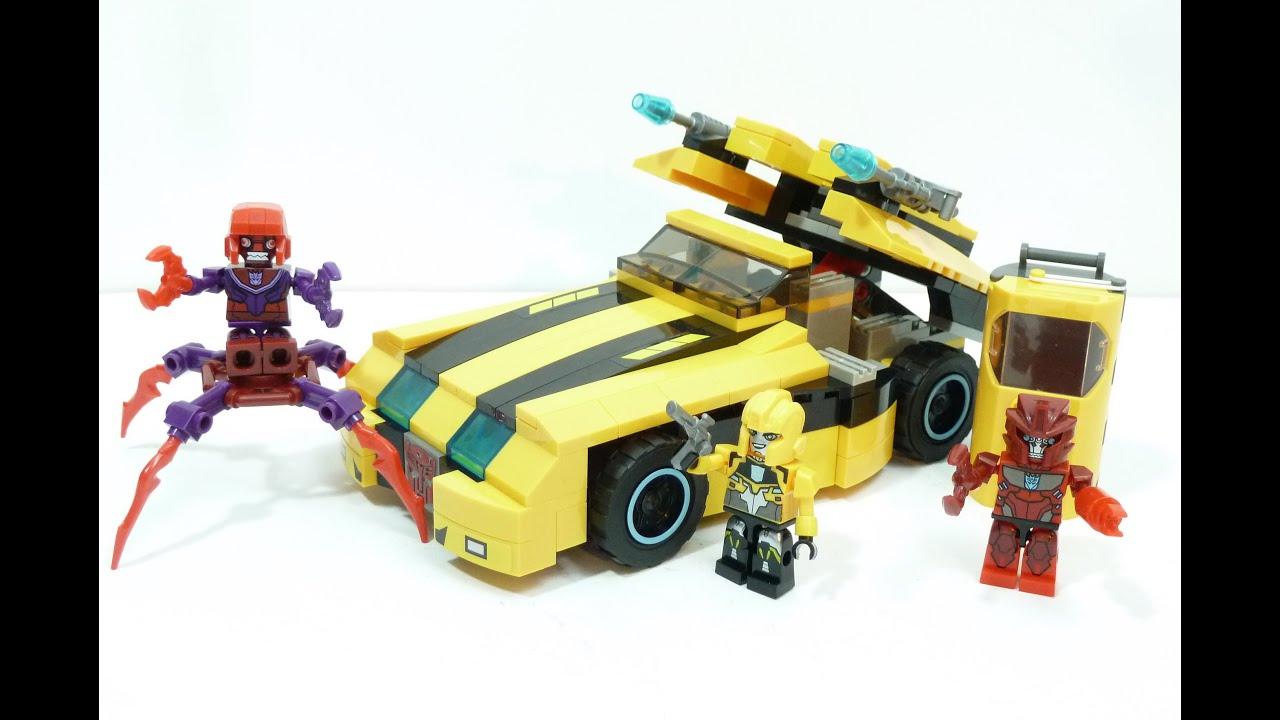 Kre O Transformers Bumblebee Disc Demolisher Youtube