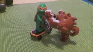 TMNT Legos For My BirthDay