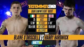 BAMMA 30: Blaine O'Driscoll vs Harry Hardwick