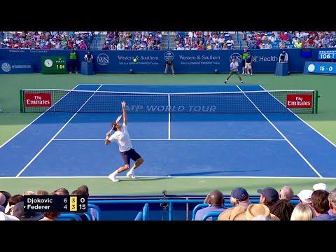 Roger Federer - Court Level Points 2018