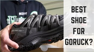 Best Shoe For GoRuck? | Salomon XA Pro 3D