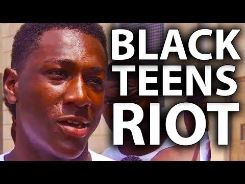 Hundreds of Black Teens Riot in Philadelphia
