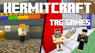 Hermitcraft 7 - Ep. 23: TAG GAMES & YELLOW BUTTON! (Minecraft 1.15.2) | iJevin
