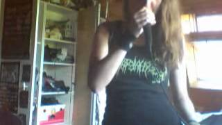 Beggin for incest   Awaiting the Fist (vocal cover)