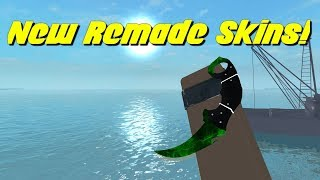 New Remade Skins (Jade Dreams, Bloodborn) In Counter Blox!