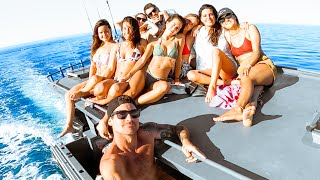 BOAT PARTY With The Crew And MY NEW NEIGHBOURS!! - Ep 242