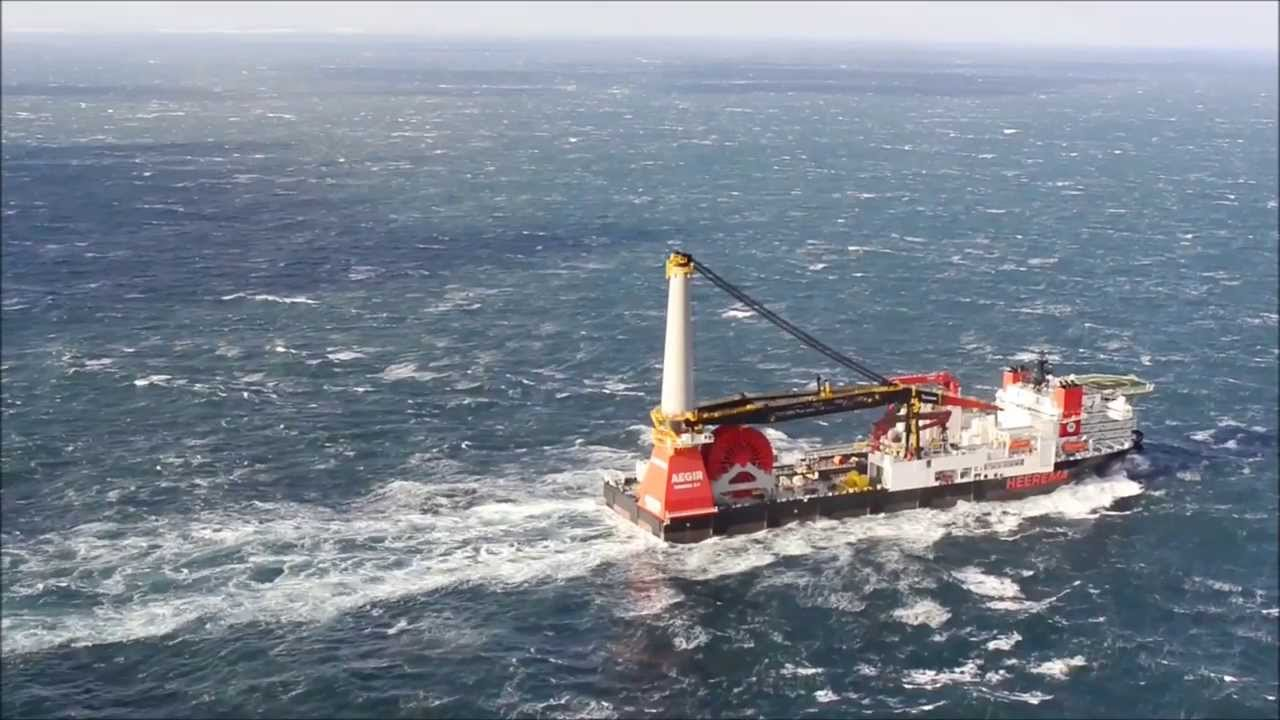 aegir - deepwater construction vessel