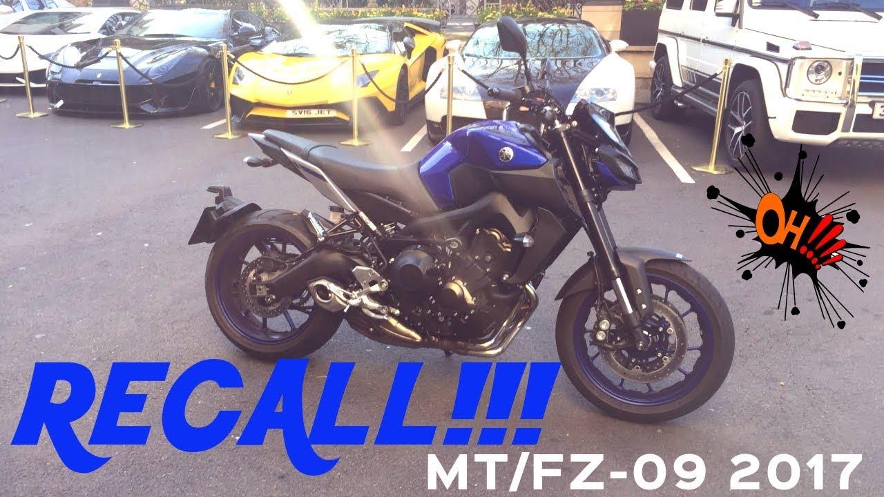 Yamaha MT09 2017 ( FZ09 2017 ) Recall - Living with the Yamaha