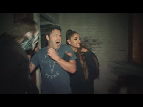 Andy and Ariana Grande&39;s Haunted House Adventure