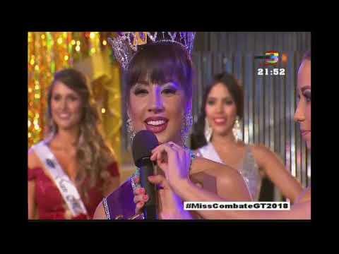 ¿Quién será la nueva Miss Combate Guatemala 2018?