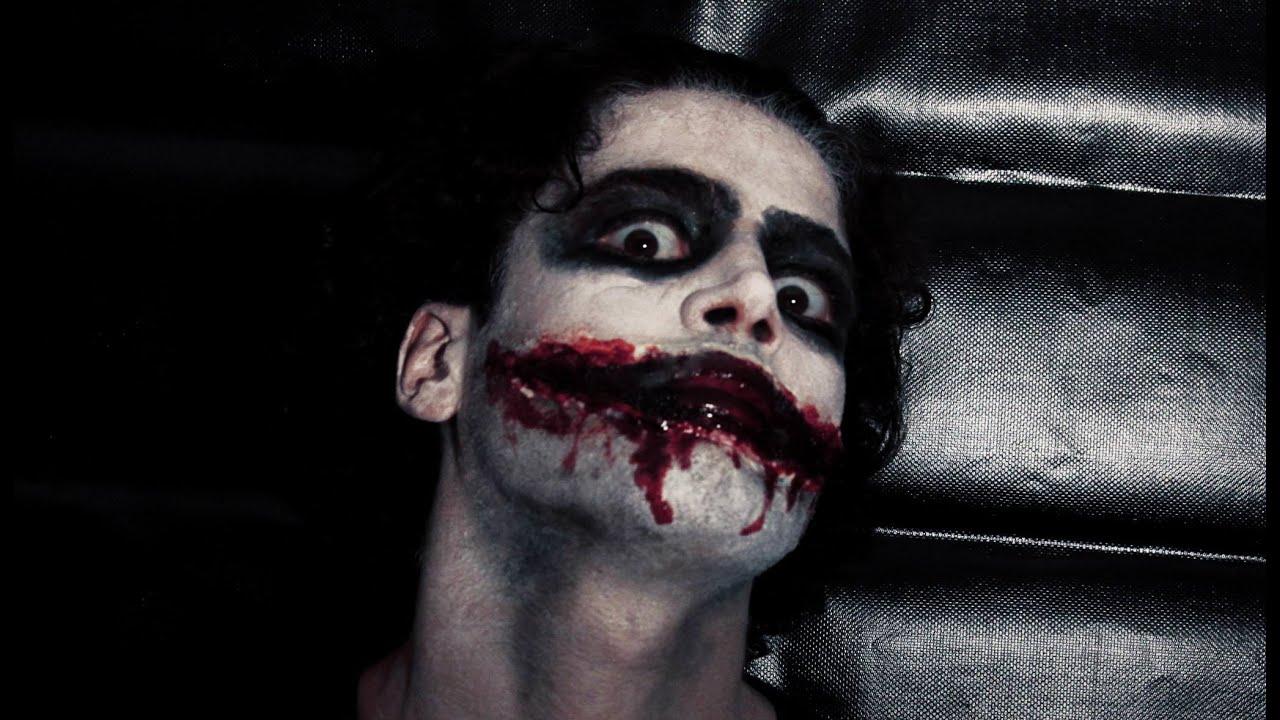 jeff the killer creepy pasta makeup tutorial go to sleep
