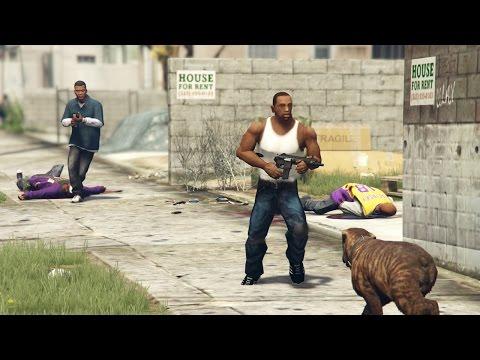 GTA San Andreas Loquendo - CJ en GTA V (PARTE 8)
