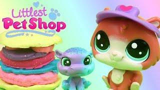 Play Doh & Littlest Pet Shop • Food Truck • bajka po polsku
