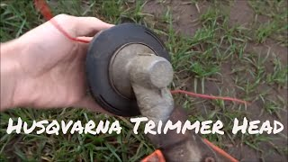 Husqvarna Trimmer Head | How Quick To Restring?
