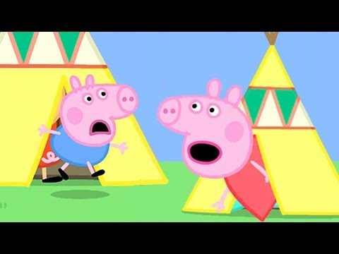 Peppa Pig in Hindi - Peppa Pig's Bedtime Story- हिंदी Kahaniya - Hindi Cartoons for Kids