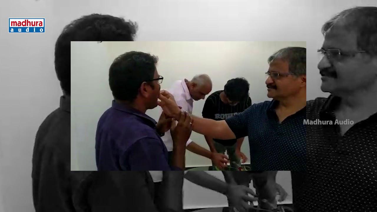 Anand Deverakonda BirthDay Celebrations At Madhura Office | Dorasaani Movie | Madhura Audio