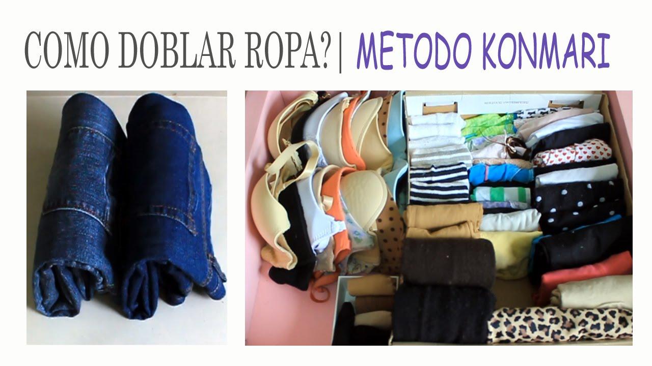 Konmari metodo doblar todo tipo de ropa 3 suemylucio - Marie kondo doblar ropa ...