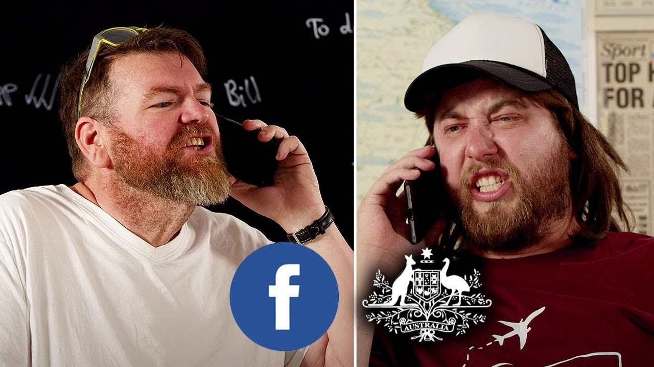 Australian Government vs Facebook (News Media Bargaining Code) FEAT. Mozza