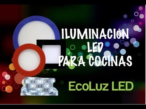 Iluminación led para cocinas - YouTube