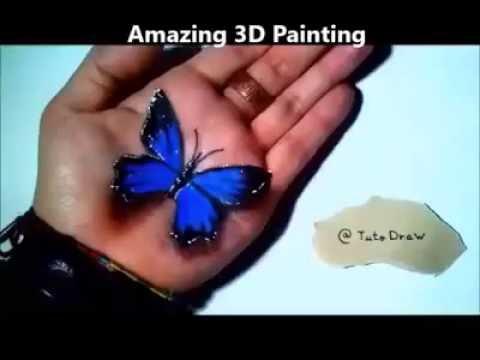 Amazin 3D painting
