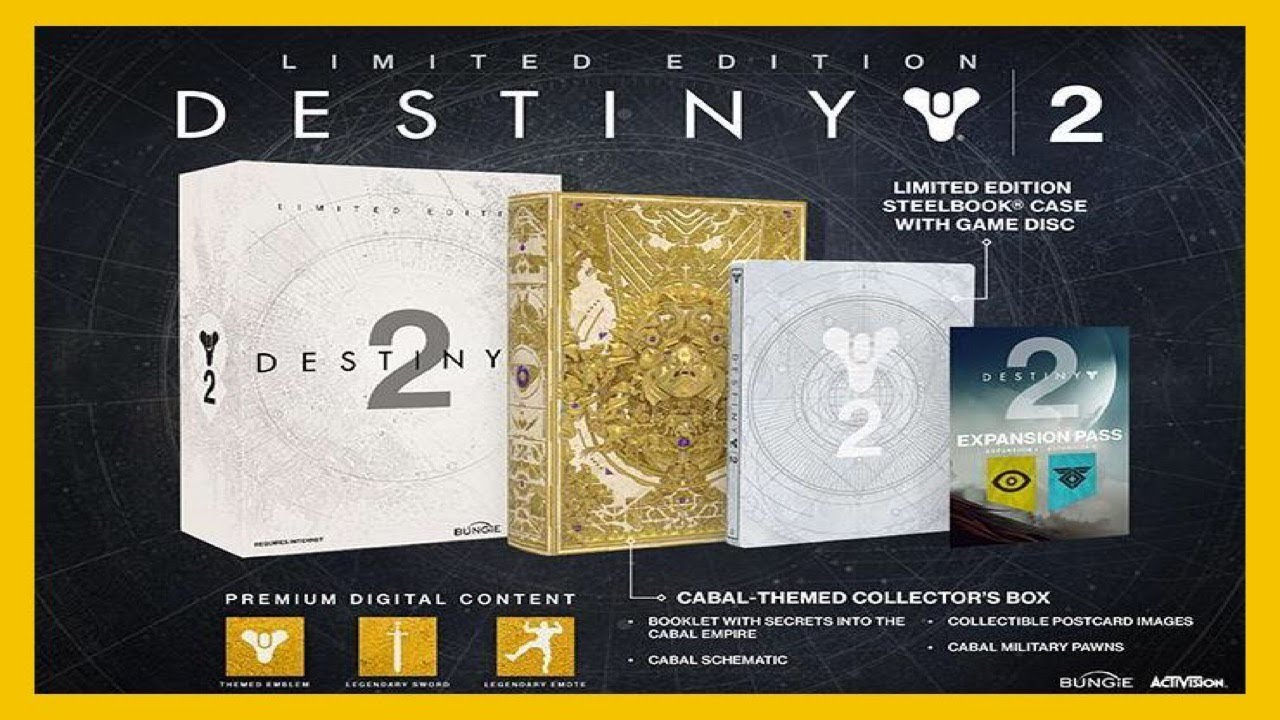 Destiny 2 collectors edition for sale - Destiny 2 Limited Edition Unboxing Review