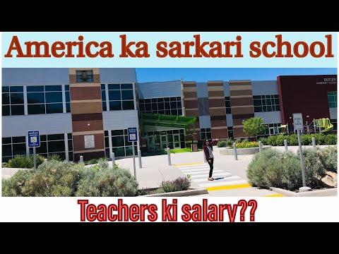 America ka government school  Teacher's salary  Free School Education  Hindi vlog  Indian in USA